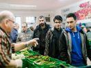 Deutschlands Tafeln sehen sich durch die steigende Zahl an Flüchtlingen zunehmend belastet. (Foto)