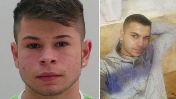 Werden per Haftbefehl gesucht: Der 16-jährige Alexander Kampf und der 21-jährige Bosko Pavlovic. (Foto)
