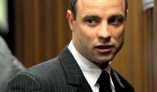 Oscar Pistorius droht eine Haftstrafe wegen Mordes an seiner Freundin. (Foto)