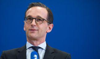 Das Netz lacht über Justizminister Heiko Maas. (Foto)