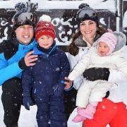 Herzogin Kate macht mit ihrer Familie Urlaub im Schnee (Foto)