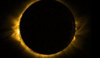 Am 09.03.2016 findet eine Totale Sonnenfinsternis statt. (Foto)