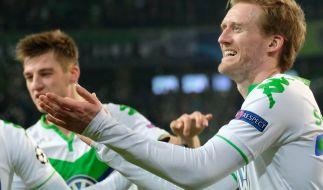 Erstmals zieht der VfL Wolfsburg ins Viertelfinale der Champions League ein. (Foto)