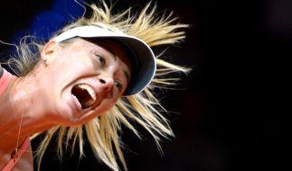 Tennis-Star Maria Scharapowa wurde positiv auf Meldonium getestet. (Foto)