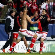 Benfica Lissabon erreicht gegen Zenit Viertelfinale der CL (Foto)