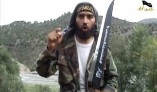 Screenshot eines IS-Propagandavideos vom Oktober 2009. (Foto)