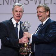 Der DFB ehrt Ottmar Hitzfeld für sein Lebenwerk (Foto)