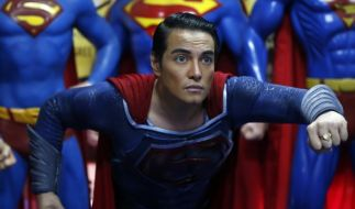 Herbert Chavez bezeichnet sich selbst als den größten Superman-Fan der Welt. (Foto)