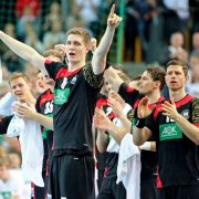 Deutsche Handballer gewinnen gegen WM-Zweiten mit 32:17 (Foto)
