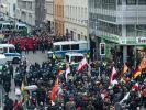 Anti-Flüchtlings-Kundgebung im Berliner Regierungsviertel