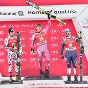 Deutsche Speedfahrer in Top 20 - Jansrud gewinnt (Foto)