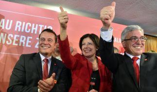 Malu Dreyer mit überraschend klarem Sieg in Rheinland-Pfalz. (Foto)