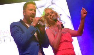 Isabel Edvardsson singt zusammen mit Michael Wendler sein neues Lied. (Foto)
