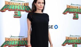 Angelina Jolie magert mehr und mehr ab. (Foto)