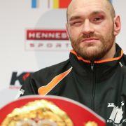Boxweltmeister Fury siegessicher: Klitschko sollte lieber Filme drehen (Foto)