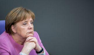 Laut einer aktuellen Umfrage steht die Mehrheit der Deutschen nicht mehr hinter Merkels Flüchtlingspolitik. (Foto)