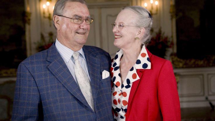 Prinz Henrik und Königin Margrethe von Dänemark. (Foto)