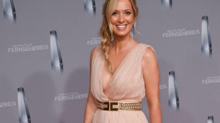 RTL-Moderatorin Angela Finger-Erben ist schwanger. (Foto)