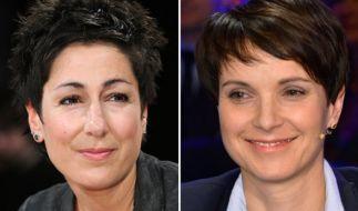Der Schlagabtausch zwischen Frauke Petry und Dunja Hayali geht in die nächste Runde. (Foto)