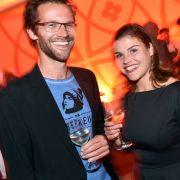 Regisseur und Autor Jonas Grosch weiß, wann er seine Schwester in Ruhe lassen muss. Beide leben in einer WG in Berlin.