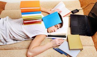 Gleitzeit für übermüdete Schüler? Ein Gymnasium in NRW schafft jetzt Fakten. (Foto)