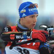 Biathleten Schempp und Peiffer feiern Doppel-Podium in Sibirien (Foto)