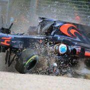 "Horror-Crash bei Alonso! ""Dankbar, dass du am Leben bist"" (Foto)"