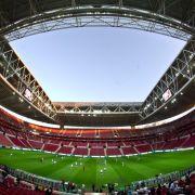 Terrordrohung: Fußball-Derby in Istanbul abgesagt (Foto)