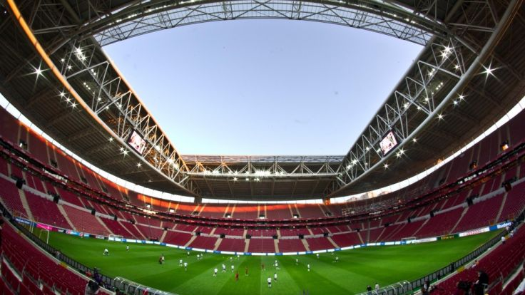 Galatasaray-Stadion in Istanbul. (Foto)