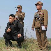 Kim Jong-un probt Invasion Südkoreas (Foto)