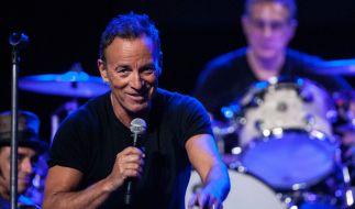 Bruce Springsteen bei einer seiner legendären Live-Shows in Australien. (Foto)