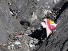 Die Germanwings-Maschine Flug 4U9525 zerschellte am 24.März 2015 in den französischen Alpen. (Foto)