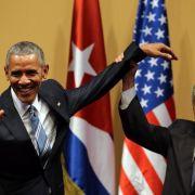 """Obama trifft Castro: """"Das ist ein neuer Tag"""" (Foto)"""