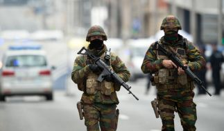 Nach den Explosionen in Brüssel rief Belgien die höchste Terroralarmstufe 4 aus. (Foto)
