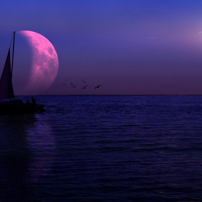 Seltener Anblick! Mond wandelt durch den Halbschatten der Erde (Foto)