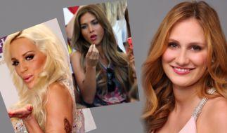 """Fast schon vergessen: Gina-Lisa Lohfink, Ann-Kathrin Brömmel und Leonie Rosella waren alle bereits bei """"Germany's Next Topmodel"""". (Foto)"""