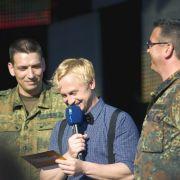 Hörfunkmoderator Stephan Michme bei einer Dankeschön-Veranstaltung des MDR. Er moderierte von 1998 bis 2004 bei MTV und hat auch selbst immer Musik gemacht, zu letzt auf seinem Album