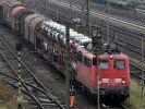 Die Bahn will, ohne jemanden zu entlassen, über 2.000 Stellen in der Gütersparte streichen, um wieder profitabler zu werden. (Foto)