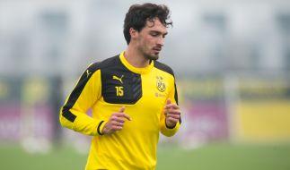 Mehrere internationale Clubs strecken derzeit ihre Fühler nach ihm aus: BVB-Spieler Mats Hummels. (Foto)