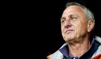 Fußball-Legende Johan Cruyff erliegt dem Lungenkrebs. (Foto)