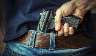 Weil er bewaffnet war, löste ein Mann in einem Kino in Wien einen polizeilichen Großeinsatz aus. (Foto)