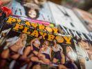 """Die deutsche Ausgabe des Männermagazins """"Playboy"""" liegt in der Auslage eines Zeitschriftengeschäftes in München. (Foto)"""