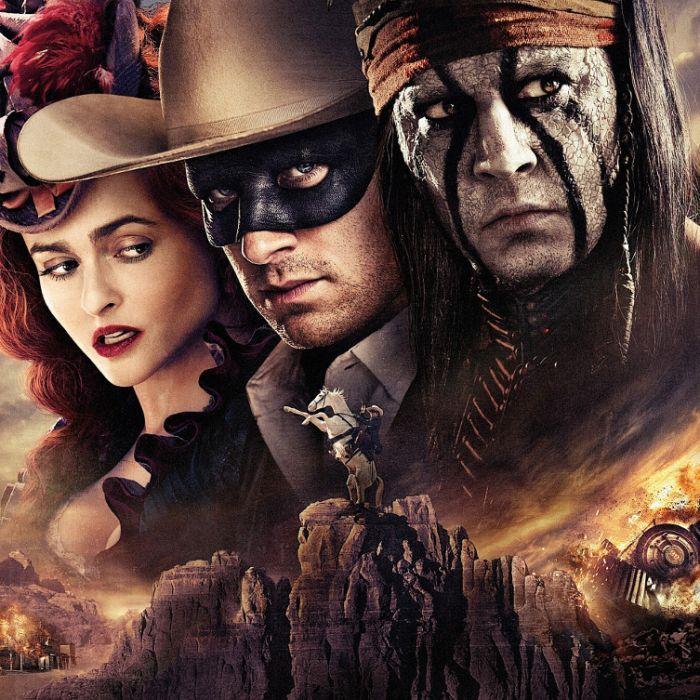 Johnny Depp brilliert als Indianer Tonto im Wilden Westen (Foto)