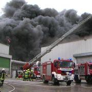 """Feuer beim Geflügelproduzenten - """"Lage chaotisch"""" (Foto)"""