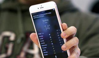 Das iPhone 6s von Apple: Nach der Umstellung auf iOS 9.3 klagen viele Nutzer über Probleme beim Öffnen von Links. (Foto)