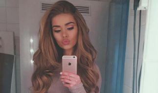 Spiegel-Selfies bringen die meisten Likes ein, weiß Instagram-Star Pamela Reif. (Foto)