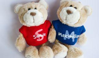 Maximilian und Sophie verteidigen weiterhin ihre Spitzenpositionen auf den Listen der beliebtesten Vornamen. (Foto)
