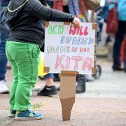 Neue Runde: Warnstreiks in Kitas und im Nahverkehr (Foto)