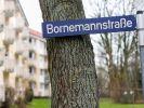 Die Bornemannstraße in Hamburg-Harburg. Hier soll es in einer Wohnung am 11. Februar zu einer gemeinschaftlichen Vergewaltigung einer 14-Jährigen gekommen sein. (Foto)