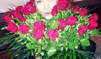Von wem Victoria Swarovski wohl diese Rosen zum Valentinstag bekommen hat? (Foto)